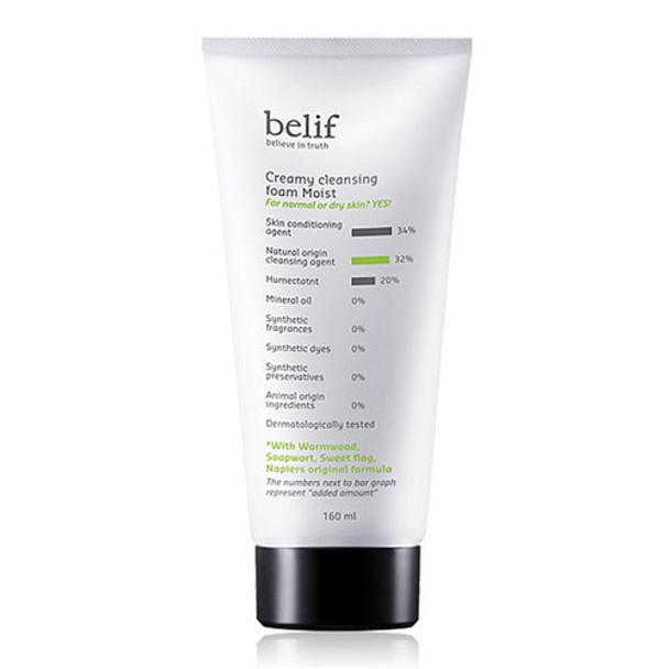Belief Creamy Cleansing Foam Moist