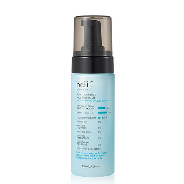 Belif Pure Clarifying Foaming Wash