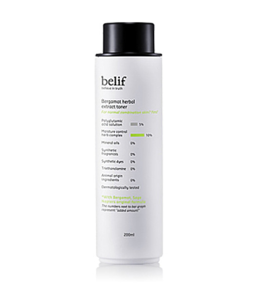 Belif Bergamot Herbal Extract Toner