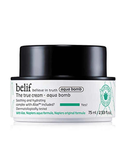Belif The True Cream - Aqua Bomb Aloe Edition