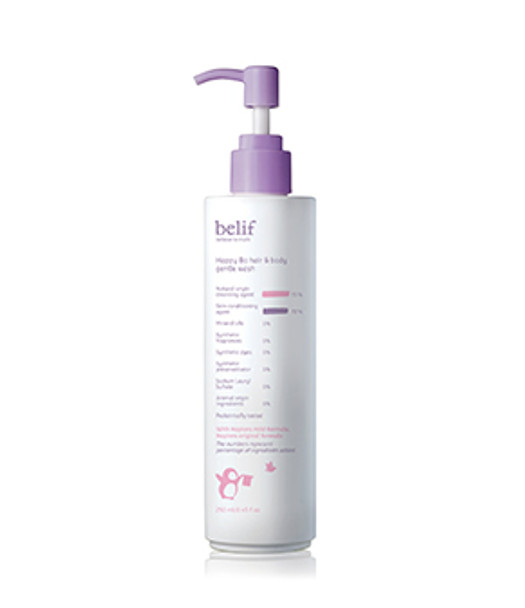 Belif Happy Bo Hair And Body Gentle Wash