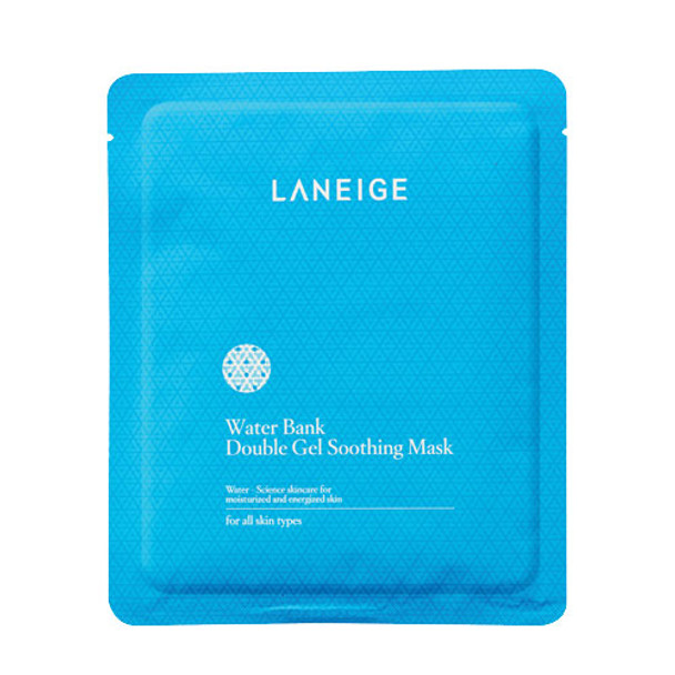 Laneige Water Bank Double Gel Soothing Mask (New)