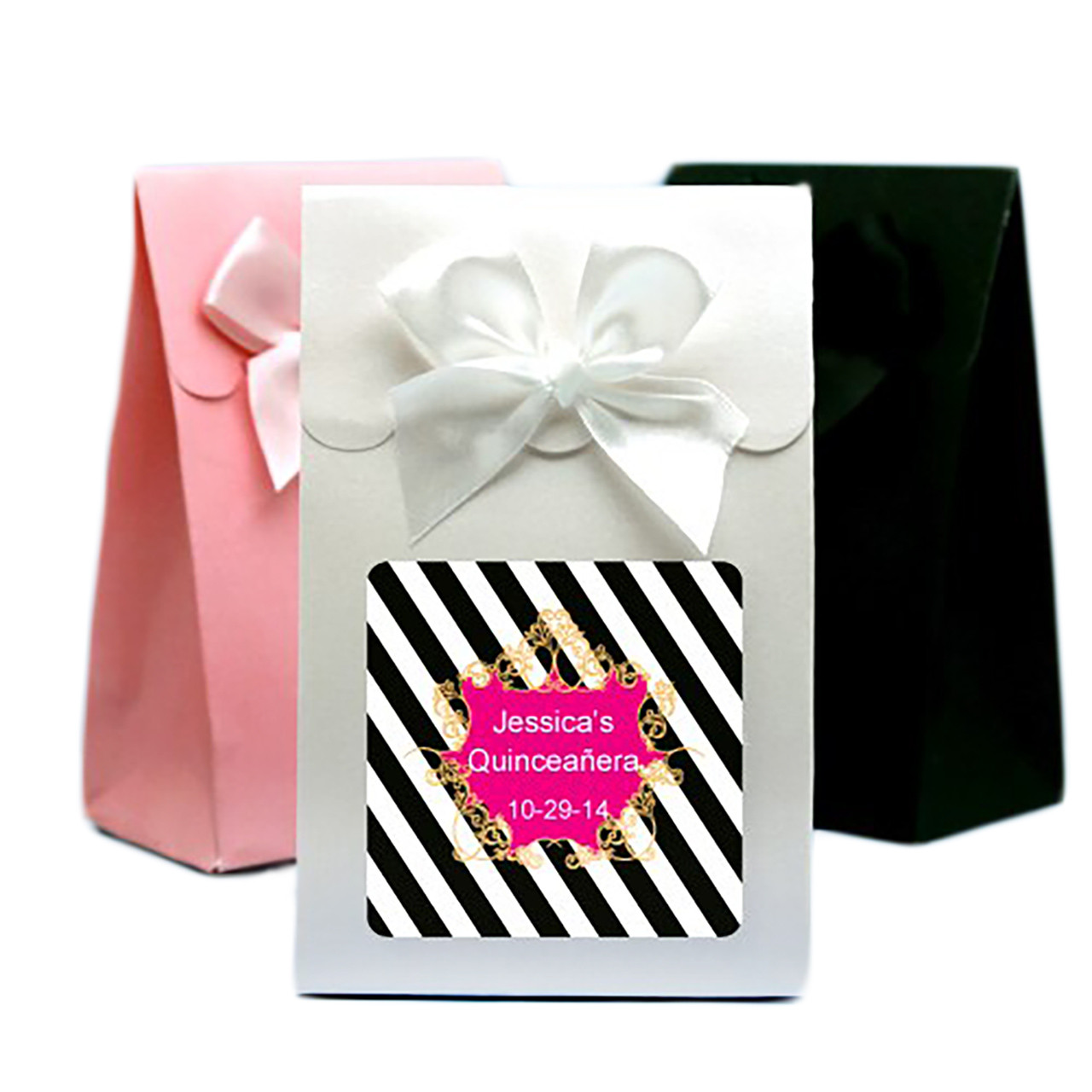 Personalized Quinceanera Candy Bag Favor