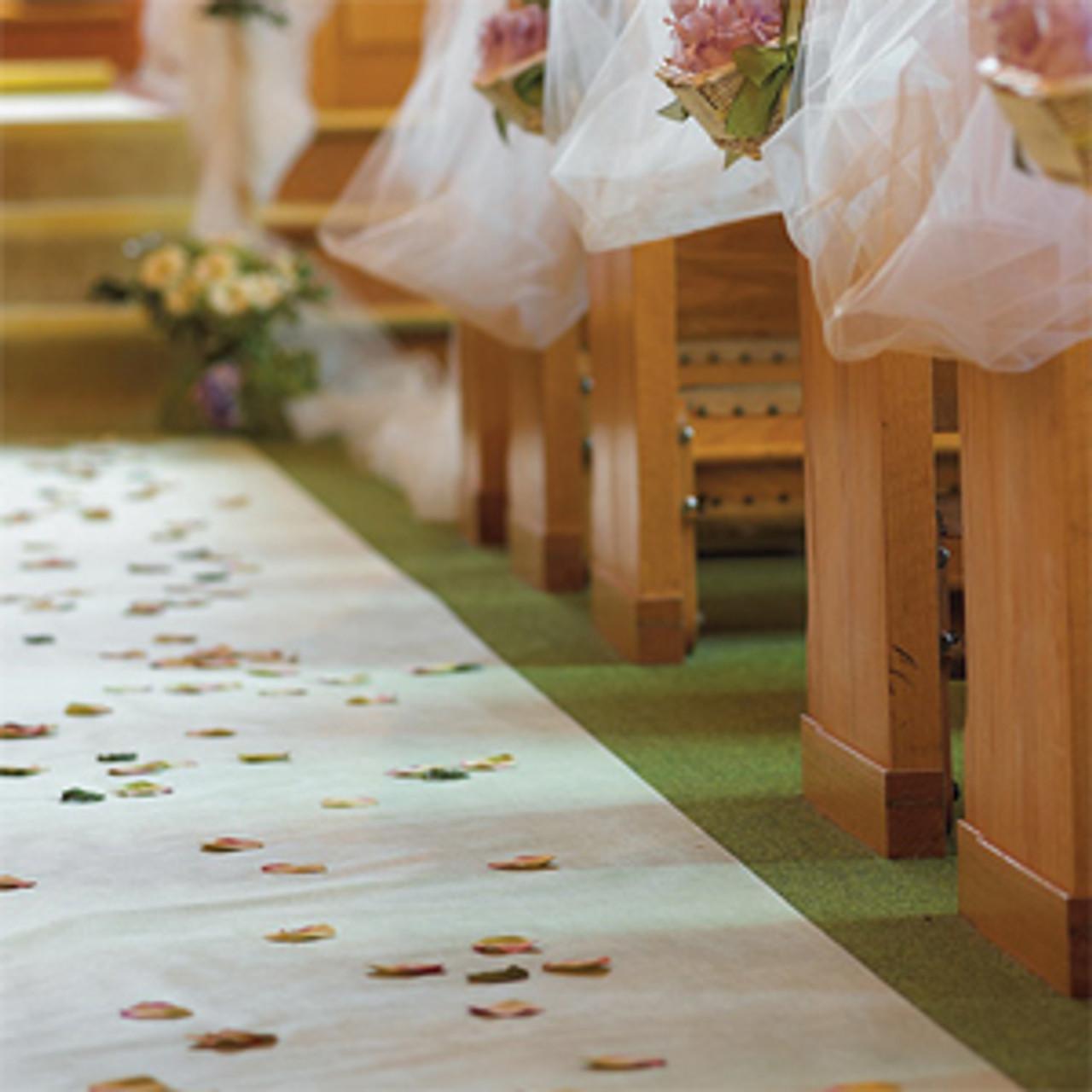Wedding Aisle Runner Favors Flowers