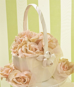 18285d1e4f Blush Rose Flower Basket