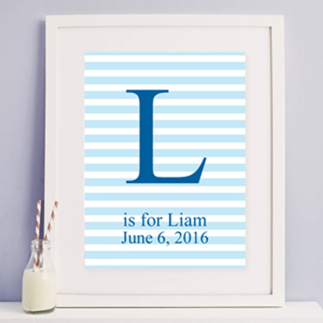 290ca705651 Personalized Baby Name Gift Frame