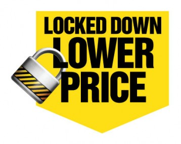 lock down price