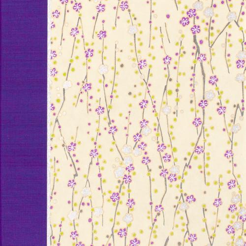 Purple Silver Cherry Branch