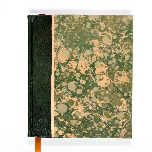Green Leather Marble