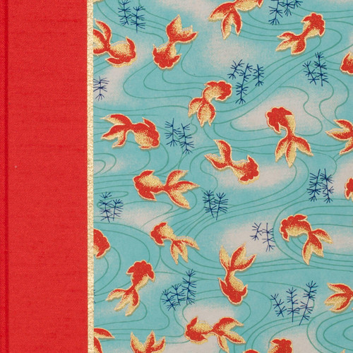Journal or Notebook in Swimming Koi