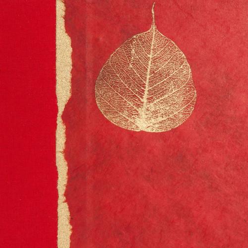 Red Bodhi Leaf