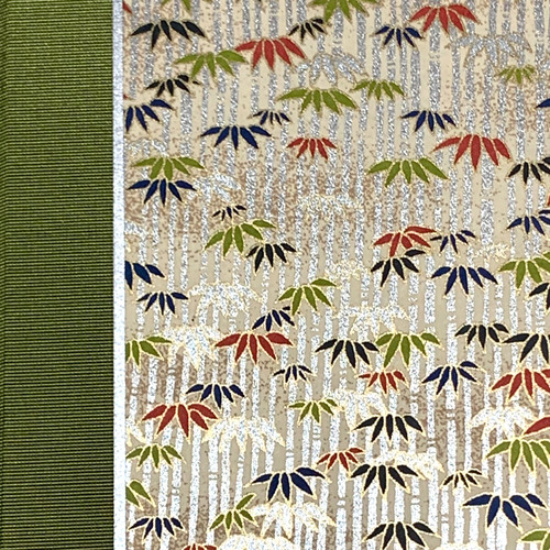 Journal or Notebook Green Bamboo