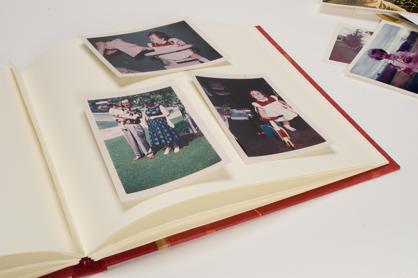 Mounting Photos the Traditional Way