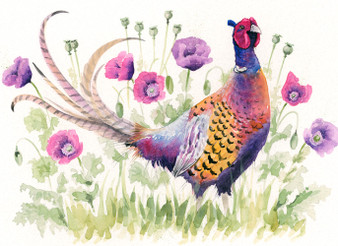 Original pheasant artwork