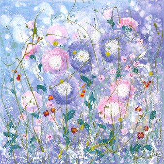 Original floral artwork by Kay Johns