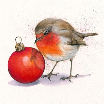 Robin artwork by Kay Johns