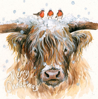 'Ding Dong' Christmas Greeting Card by Kay Johns