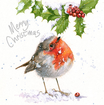 'Snowfall' Christmas Greeting Card by Kay Johns