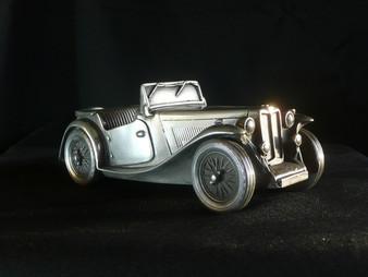 MG TC Midget pewter model