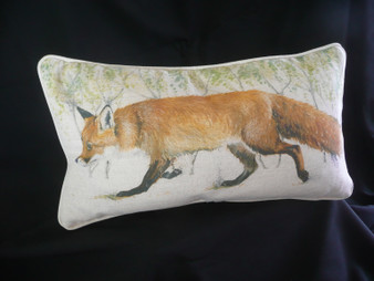 'Trot On' country cushion by Kay Johns