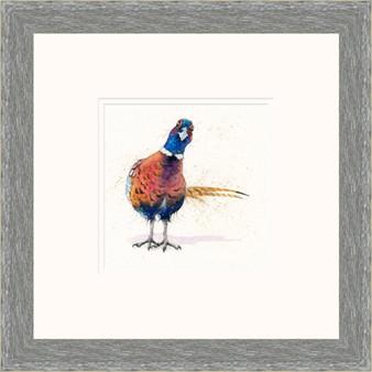 Pheasant painting by Kay Johns