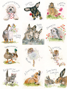 Greeting card Multipack 1