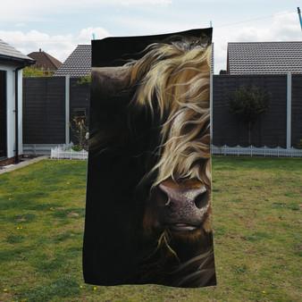 Towel - Macbeth 1 Artwork by Kay Johns
