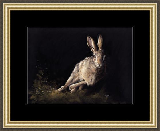 Medium paper framed image