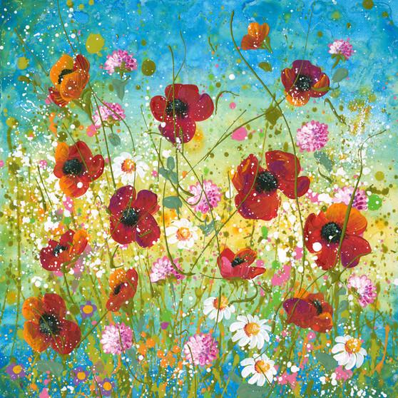 Original floral artwork by Kay Johns