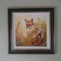 Framed Fox Canvas Version