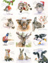 Christmas Greeting Card - Multipack (12 different cards)