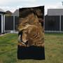 Towel - Aslan. Male Lion. Artwork by Kay Johns