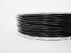 Black Flexible TPU 3D Printing Filament 1.75mm 200g