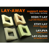 LAY-AWAY HIGH-T-LAY Dissolvable Support 3d Printing Filament - 1.75 mm