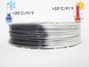 Temperature Color Changing Gray to White PLA 3D Printing Filament 1.75mm, 50g