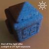 Glitz Gold Flake Glow in the Dark Blue / Green 3D Printing PLA Filament 2pcs