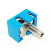 All Metal Hotend Kit with A2 Hardened Steel Nozzle and Copper Plated Heat Block for V6 3D Printer