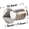 Dragon Hotend 3D printer Extrusion Head (Standard Flow) Compatible w/ V6 Hotend mosquito Hotend