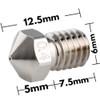 Dragon Hotend V2 3D printer Extrusion Head (High Flow) Compatible w/ V6 Hotend 3D Printer