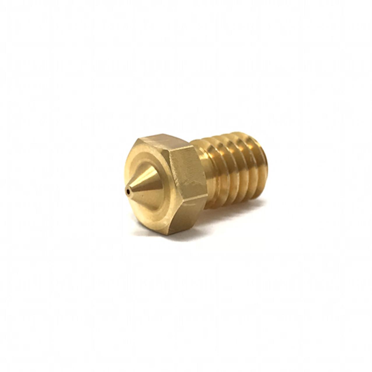 E3D V6 Brass Nozzle Triple Pack 1.75mm, 0.4mm