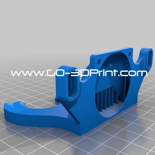 Active Cooling Fan Duct for Replicator / Duplicator / FlashForge Creator