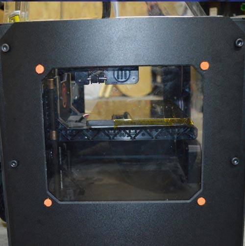 Window peg fix for Makerbot Replicator 2X