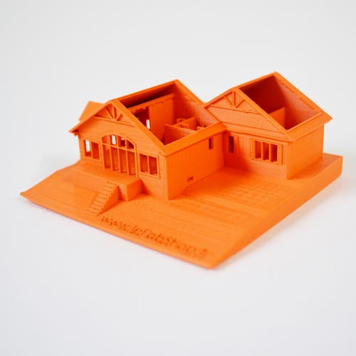 I printed my parent's house in Canada