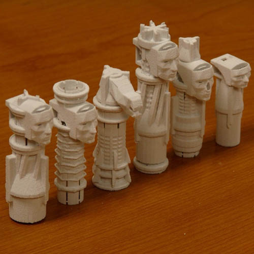 Ancestry Chess Set