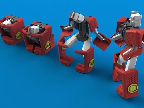 MakerBot Mascot Transformer