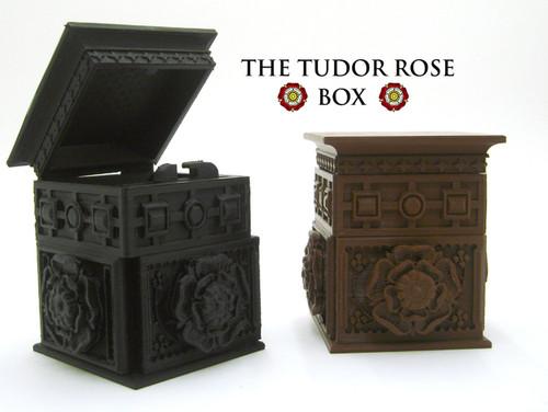 The Tudor Rose Box (with secret lock)