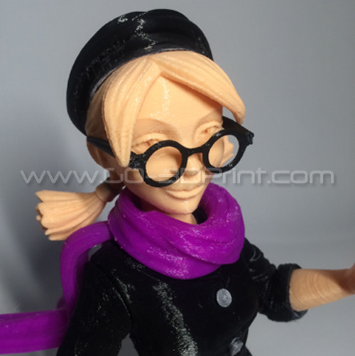 Bold Machines: Margo Main Character Model for The 3D Printed Movie