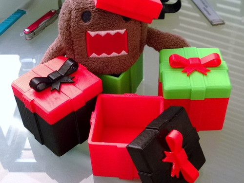 Christmas Holiday Gift Box