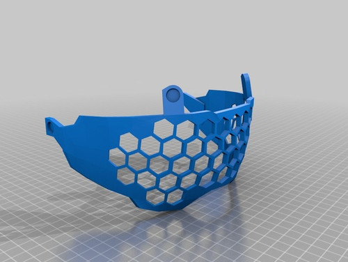 Perforated Visor for Halo Helmet