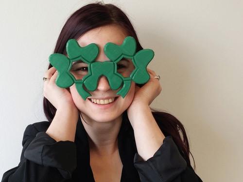 Shamrock glasses - Saint Patrick's Day